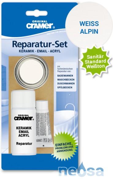 Cramer Reparatur Set in sanitärweiß für Keramik, Email und Acryl