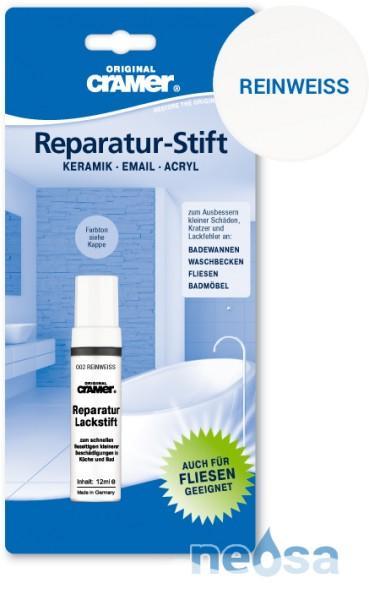 Cramer Reparatur-Stift reinweiß für Keramik, Acryl und Email