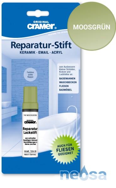 Cramer Reparatur-Stift Moosgrün für Keramik, Acryl und Email