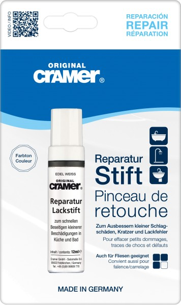 Cramer Reparatur-Stift Edelweiß matt