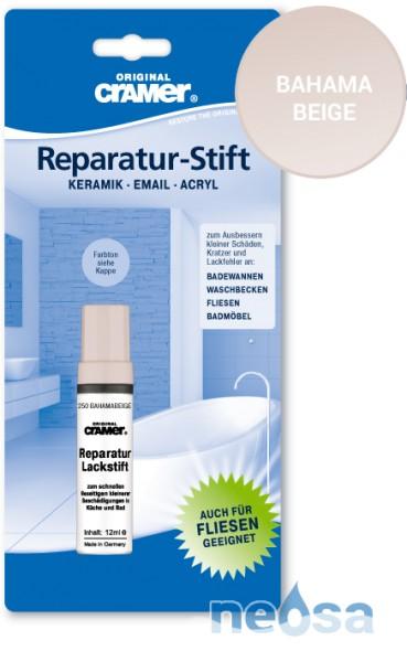 Cramer Reparatur-Stift Bahamabeige für Keramik, Acryl und Email